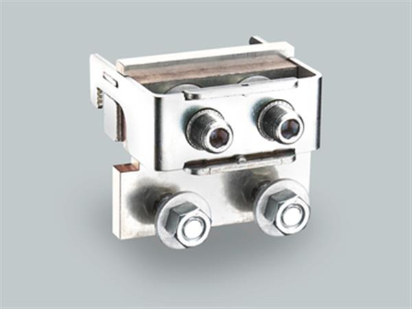 connection module for 4 cable lugs M12
